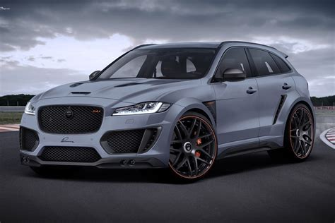 Jaguar F Pace Modification by Jaguar F Pace Looks Stronger With Wide Kits From