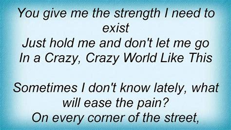 16663 Pat Benatar - A Crazy World Like This Lyrics - YouTube