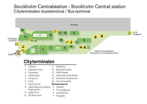 Station Map Stockholm Central