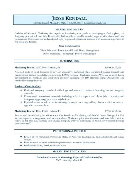 A Resume Objective For Any by Resume Objective Exles Resume Format