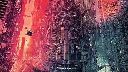 Cyberpunk Futuristic 4k Artwork Cyber Fantasy Concept