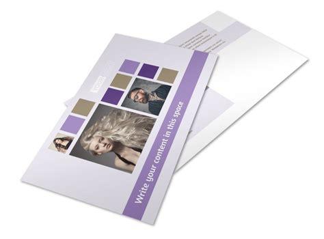 creative hair salon postcard template mycreativeshop