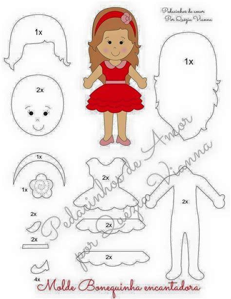 Felt Dress Up Doll Template by Best 25 Felt Doll Patterns Ideas On Felt