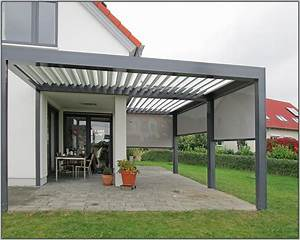 Terrassenberdachung Sonnenschutz Innen Terrasse