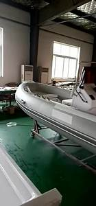 Double Layer Fiberglass Hull Rigid Inflatable Boat With