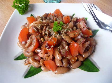 cuisiner les lentilles corail salade de haricots borlotti tomate et balsamique au fil du thym
