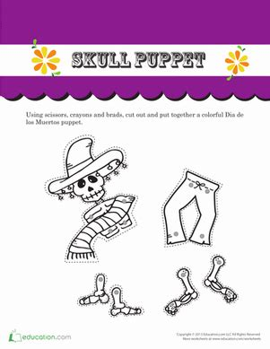 day of the dead catrina worksheet education