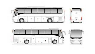 Go Back   Gallery For   City Bus Drawing  Bus Drawing
