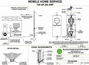 Double Wide Mobile Home Electrical Wiring Diagram  U2014 Untpikapps