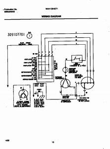 Wiring Diagram Diagram  U0026 Parts List For Model Wah126h2t1 White