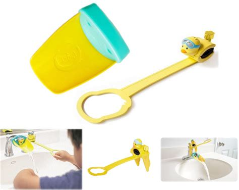 aqueduck faucet extender singapore now your child can wash without climbing or
