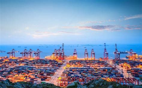 dock ports sea clouds ship container ship wallpapers