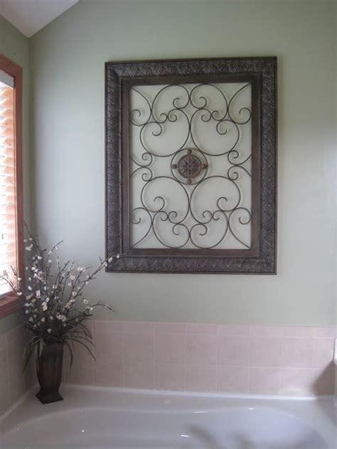 How To Decorate A Bathroom Wall - 25 best ideas about iron wall decor on