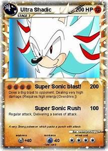 Pokémon Ultra Shadic - Super Sonic blast! - My Pokemon Card