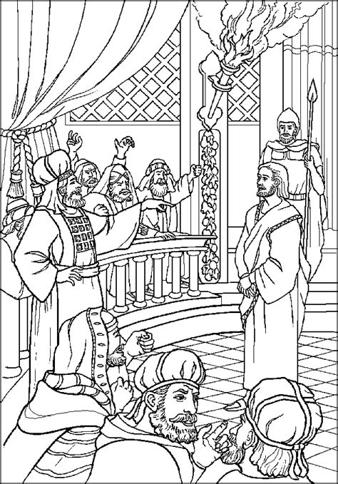 holy thursday coloring pages getcoloringpagescom