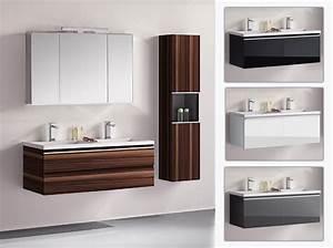Badmöbel Set Braun : badm bel set g ste wc doppelwaschbecken spiegelschrank cosma weiss hgl 120cm ~ Orissabook.com Haus und Dekorationen
