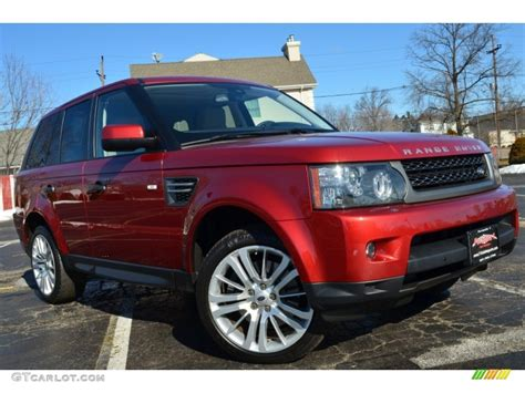red land rover old 2010 rimini red land rover range rover sport hse 77474120