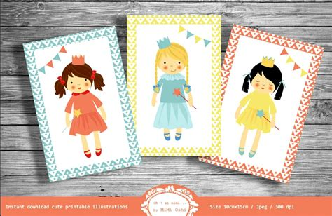 Going with colorful paint on. Adorable Printable Postcards   Download for Scrapbooking Kid's Wall Art