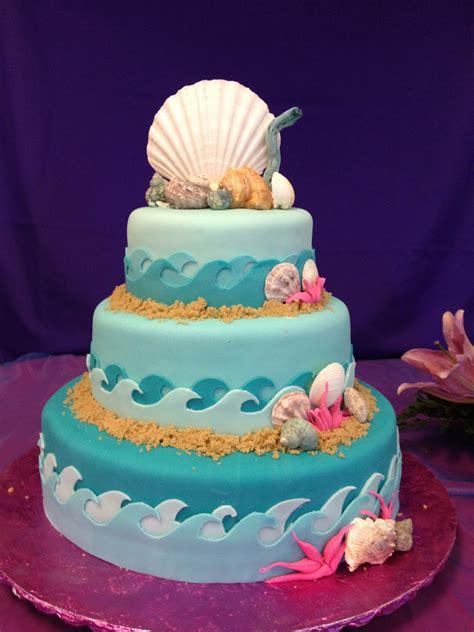sea quinceanera cake applemark sea cakes