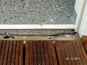 Balkontür Abdichten Außen : t rschwelle baublog von katja alexey ~ Yasmunasinghe.com Haus und Dekorationen