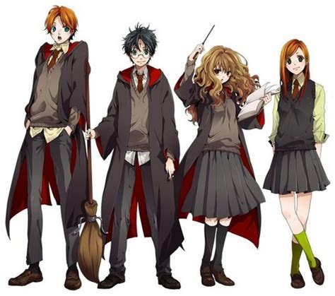 Anime Harry Potter Wallpaper - harry potter images harry potter anime wallpaper and