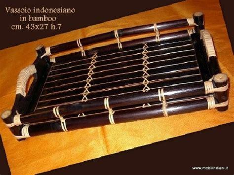 mobili etnici prato foto vassoio etnico in bamboo di mobili etnici 41057