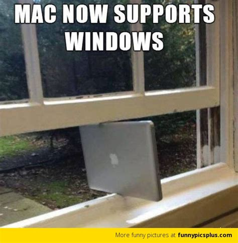 Windows Meme - apple now supports windows funny pictures