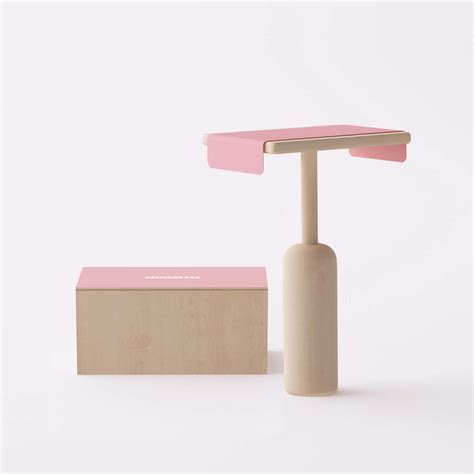 designerbox special pedestal table iconic design by
