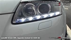 Audi A6 Soundmodul : exled 2color drl upgrade module for audi a6 youtube ~ Kayakingforconservation.com Haus und Dekorationen