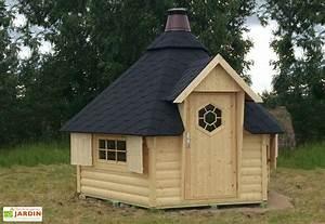 Cabanon De Jardin Bois : abri de jardin bois kota 382x331 44mm grill en option ~ Melissatoandfro.com Idées de Décoration
