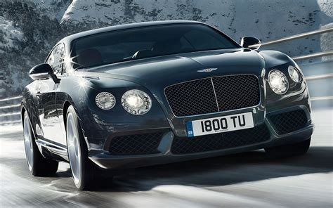 bentley continental gt  front  quarters view