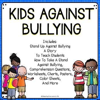 Bully Prevention By Educating Everyone 4 Life  Teachers Pay Teachers