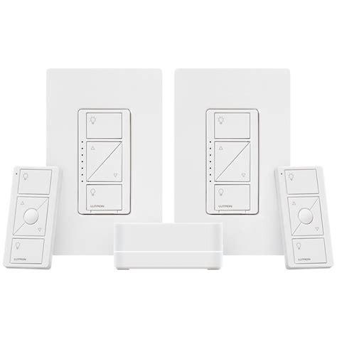 lutron caseta wireless smart lighting dimmer kit p bdg