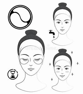 Instruction  How To Apply Nasolabial Cosmetic Patches