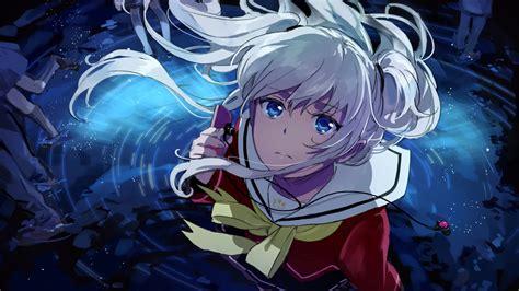 White Anime Wallpaper - anime anime tomori nao artwork anime