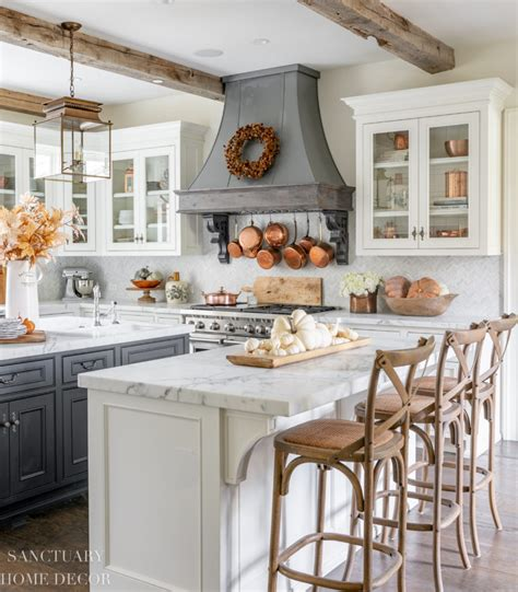 farmhouse kitchen fall decorating ideas sanctuary home decor