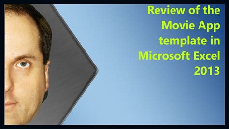 review    app template  microsoft excel