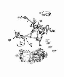 Fiat 500e Wiring  Motor  Electric
