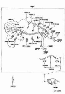 Toyota Camry Cord  Spark Plug Resistive  No  1  Sumitomo  Ignition  Engine