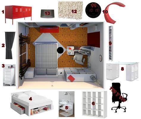 amenagement chambre 13m2 déco studio 13m2