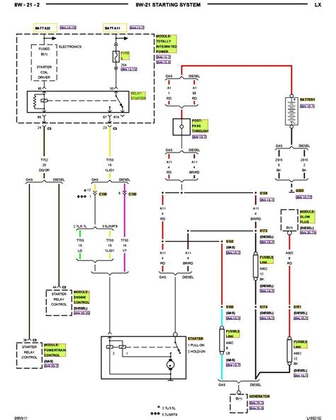Dodge Charger Wiring Diagram For