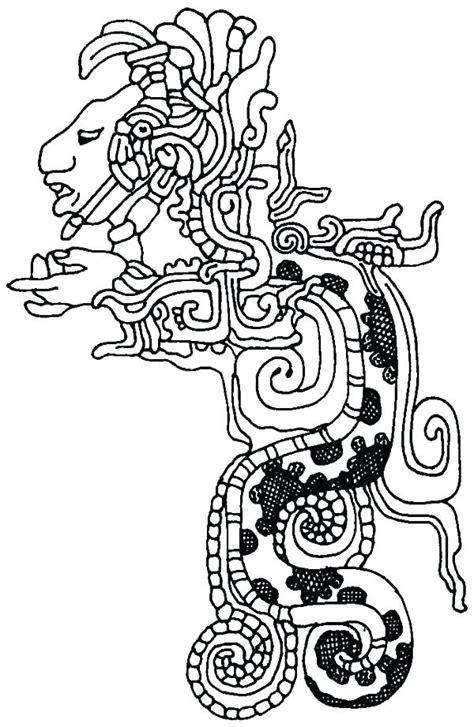aztec calendar coloring page  getcoloringscom
