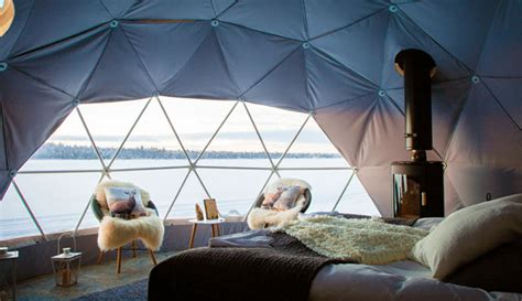 glamping domes glamorous camping  year
