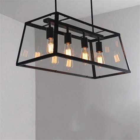 edison light fixture rustic chandelier dining room kitchen