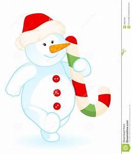 Cartoon Little Cute Snowman Stock Vector - Image: 16937087