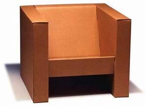 Fabriquer Un Fauteuil : tripop fauteuil en carton pli ~ Zukunftsfamilie.com Idées de Décoration
