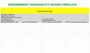 22 images of traceability matrix template leseriailcom With requirement traceability matrix template