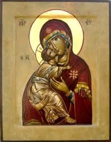 Icon Theotokos Vladimir