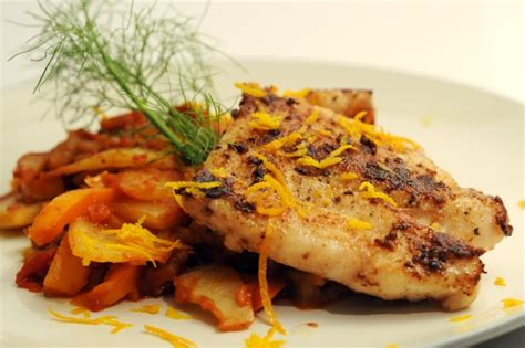 grouper braised fennel tomato recipes cook way table sea