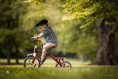 Children Bicycle Nature Desktop Wallpapers Backgrounds
